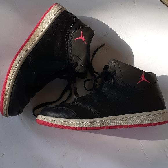 Jordan 23 Girls Black High Tops